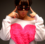 Hot Pink Heart Sweat